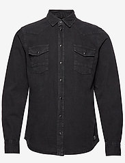 Blend - Shirt - chemises en jean - black - 0