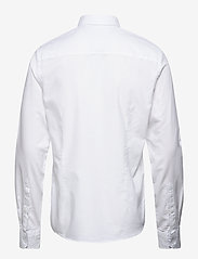 Blend - BHNAIL shirt Slim Fit - peruspaitoja - white - 1