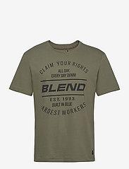 Blend - Tee - krótki rękaw - deep lichen green - 0