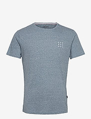 Blend - Tee - podstawowe koszulki - dark denim - 0