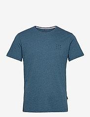 Blend - Tee - basic t-shirts - dark navy - 0