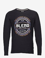 Blend - Tee - t-shirts à manches longues - dark navy - 0