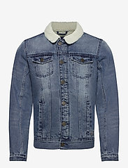 Blend - Outerwear - spijkerjassen - denim middle blue - 0
