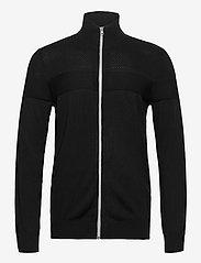 Blend - Cardigan - basic knitwear - black - 0
