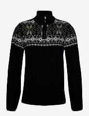 Blend - Pullover - half zip-tröjor - black - 0