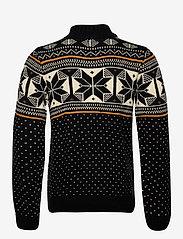 Blend - Pullover - pulls demi-zip - black - 1