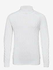 Blend - Pullover - basic gebreide truien - bright white - 0
