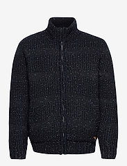 Blend - Cardigan - basic knitwear - dark navy - 0