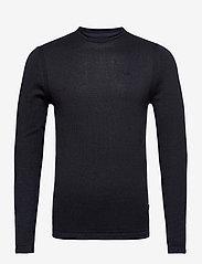 Blend - Pullover - stickade basplagg - dark navy melange - 0