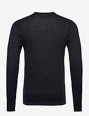 Blend - Pullover - stickade basplagg - dark navy melange - 1