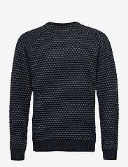 Blend - Pullover Ambitious - knitted round necks - dark navy - 0