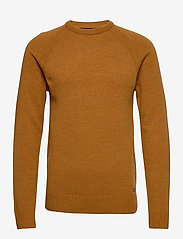 Blend - Pullover Ambitious - basic knitwear - sudan brown - 0