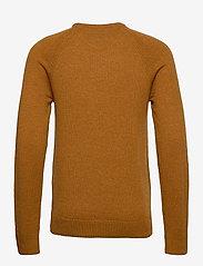 Blend - Pullover Ambitious - stickade basplagg - sudan brown - 1