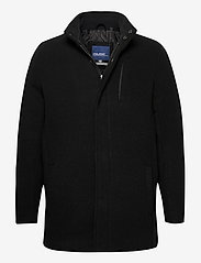 Blend - Outerwear - wool coats - black - 0