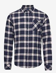Blend - Shirt - koszule w kratkę - dark navy - 0