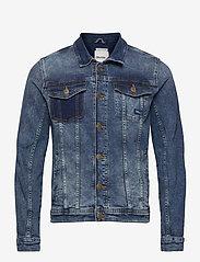 Blend - Denim jacket - spijkerjassen - denim middle blue - 1