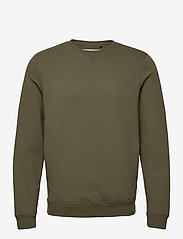 Blend - Sweatshirt - basic sweatshirts - dusty olive - 0