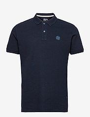 Blend - Poloshirt - poloshirts - dress blues - 0