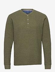 Blend - Tee - t-shirts basiques - dusty olive - 0