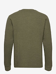 Blend - Tee - basic t-shirts - dusty olive - 1