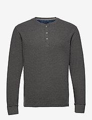 Blend - Tee - basic t-shirts - pewter mix - 0