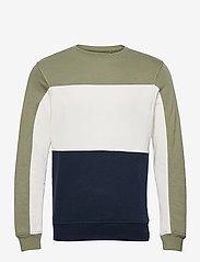 Blend - Sweatshirt - basic sweatshirts - oil green - 0