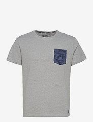 Blend - Tee - basic t-shirts - stone mix - 0