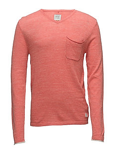 Pullover - CORAL SEA RED