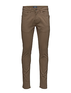 Pants - MOCCA BROWN