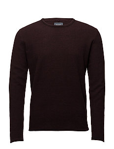Pullover Slim fit - WINE RED