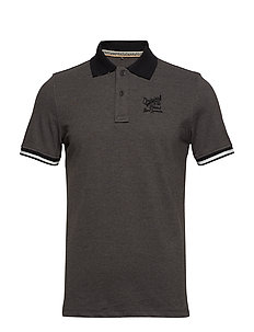 Poloshirt - PEWTER MIX