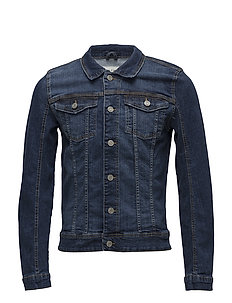 Denim Jacket - DENIM MIDDLEBLUE