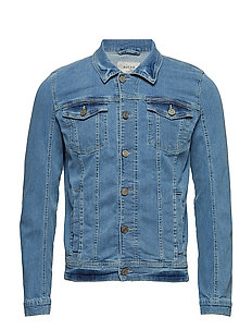 Denim Jacket - DENIM LIGHTBLUE