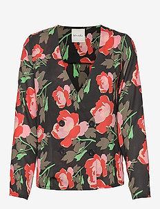 BSRITA R BLZ - blouses med lange mouwen - printed