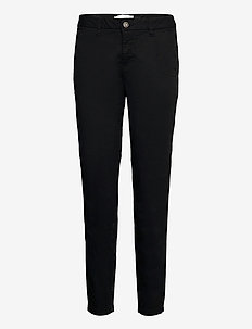 BSURBAN CASUAL CH - bukser med smalle ben - black
