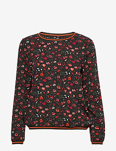 BSWISCON R BL - long sleeved blouses - printed
