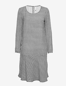 BSGLOBO R DR - sukienki do kolan i midi - black