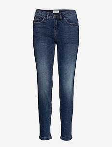 BSGOVA CASUAL JEANS - jeans slim - dark blue denim