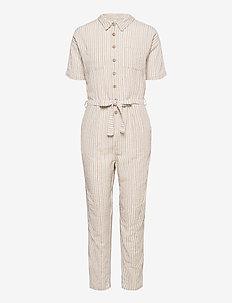 BSPOWA R JU - jumpsuits - striped