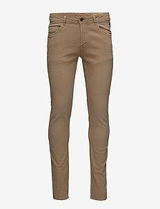 Pants - pantalons décontractés - safari brown