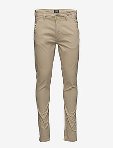 BHNATAN pants NOOS - chinos - beige brown