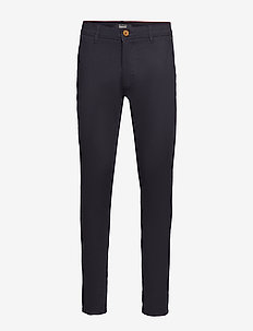BHNATAN pants NOOS - pantalons chino - dark navy blue