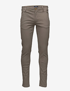 BHNATAN pants NOOS - chinos - granite