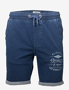 Sweat shorts - casual shorts - soft blue