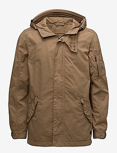 Outerwear - parkas - safari brown