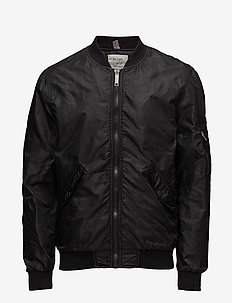 Outerwear - bomber jackets - black