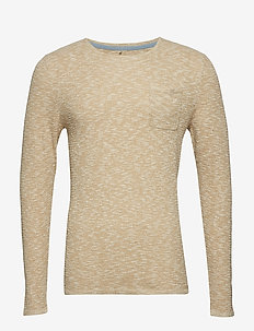 Pullover - perusneuleet - sand brown