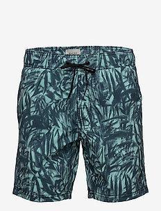 Swimwear - swim shorts - granite green