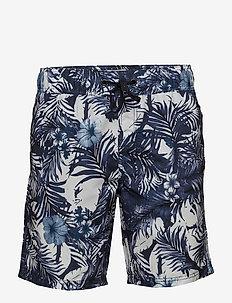 Swimwear - swim shorts - white
