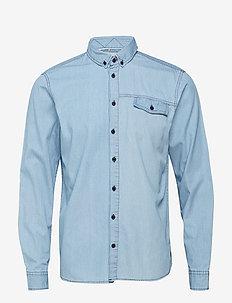 Shirt - farkkupaidat - soft blue